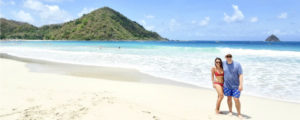 The beaches of southern Lombok