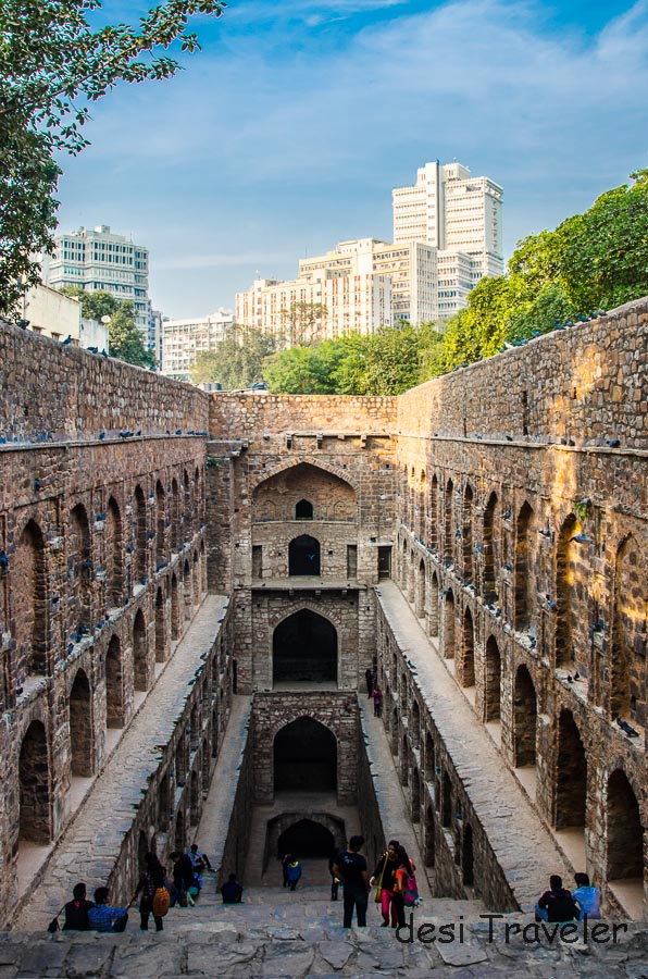 Agarsen Ki Baoli, over 1000 years old and in the heart of New Delhi