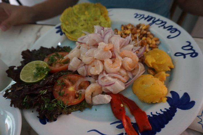 Eating in Cartagena