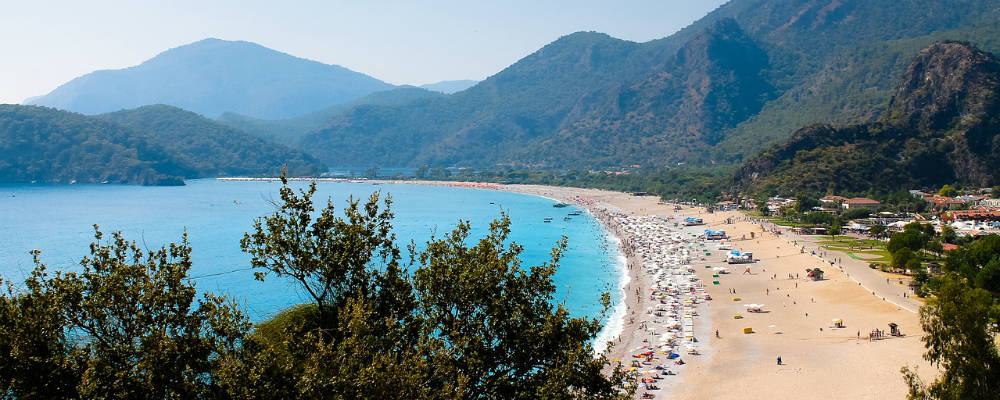 Beaches in Fethiye with children