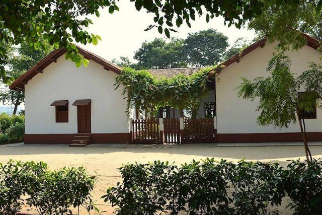 Visiting the history of Gandhi and Sabarmati Ashram