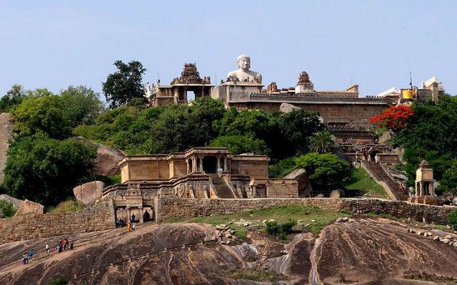 Statue of Bahubali at Shravanabelgola