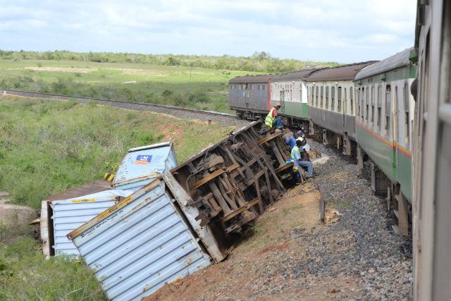 Train from Nairobi to Mombasa