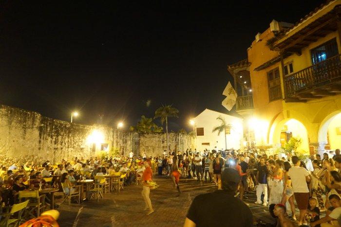 Salsa parties in Cartagena
