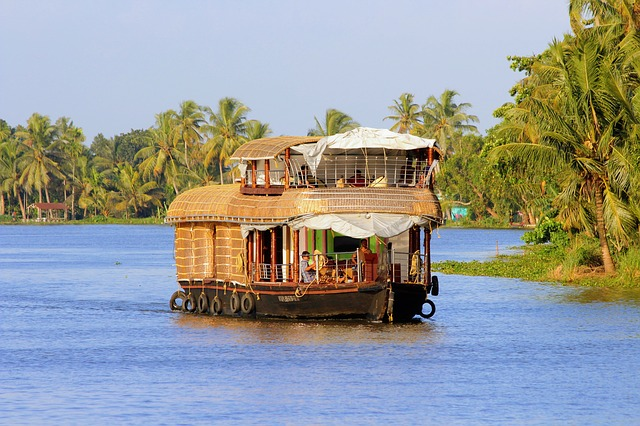 Iconic Houseboats in Kerala