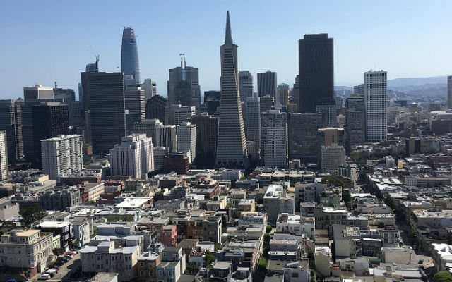 View of Downtown San Francisco