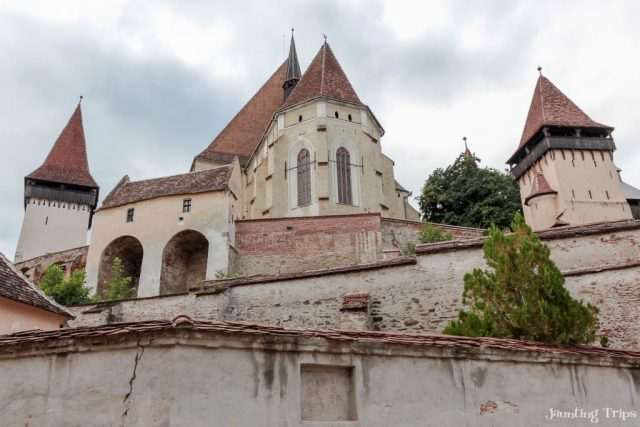 Visiting the fortified churches of Roumania