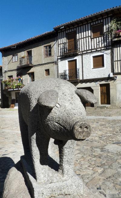 El Marrano de San Antón celebration in La Alberca