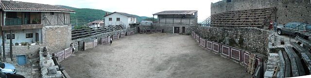 The second oldest bullring in Spain is in San Martin del Castenar