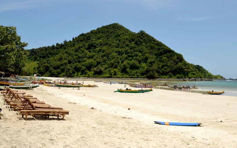One of Kuta's best beaches