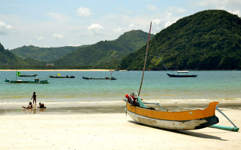 The finest beaches in Indonesia