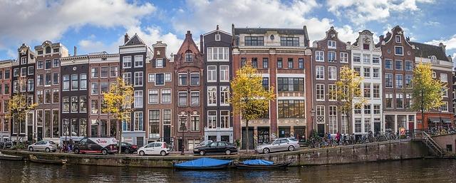 Worlds biggest flea market in Amsterdam