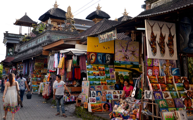 Markets in Ubud