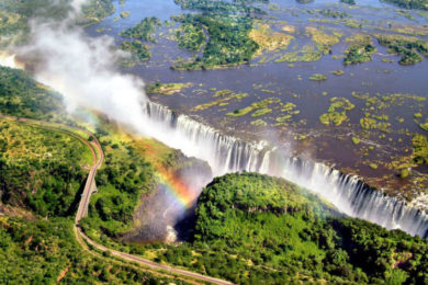 What to do in Livingstone Zambia, visiting the Victoria Falls and guide to Devil's Pool
