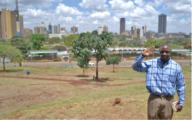 Charles in Uhuru Park