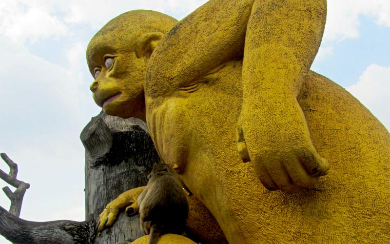 Monkey Temple Lopburi