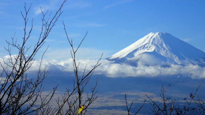 Mount Fuji as viewed from Hakone