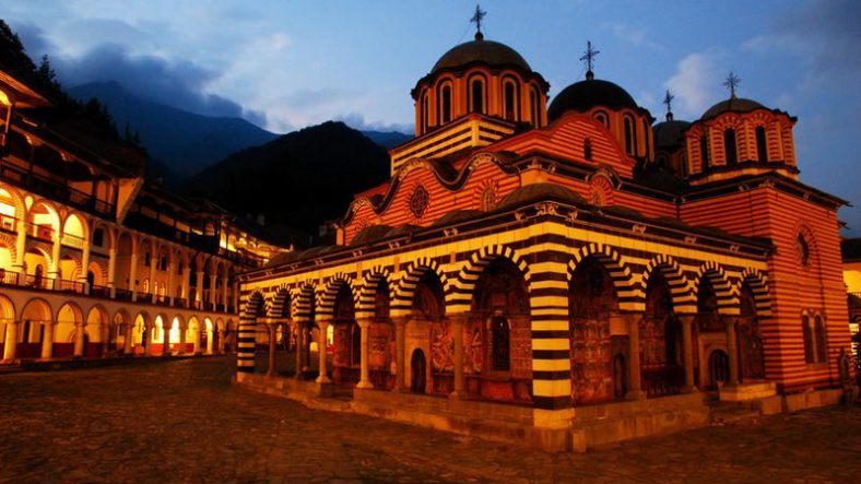 Vist the Rila Monestary in Bulgaria