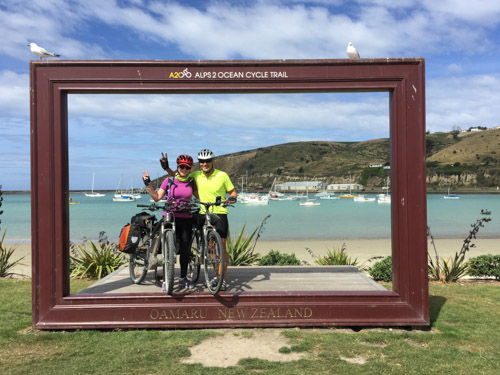 New Zealand by bike