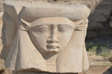 Visiting the Temple of Hathor in Dendera