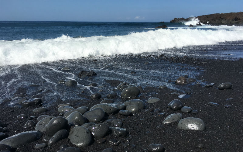 The Black Beaches of Lanzarote