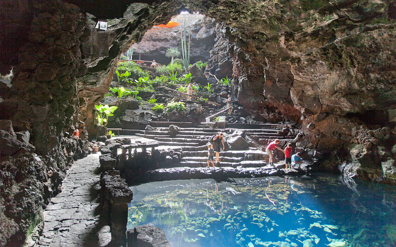 Visit the Jameos Del Agua in Lanzarote