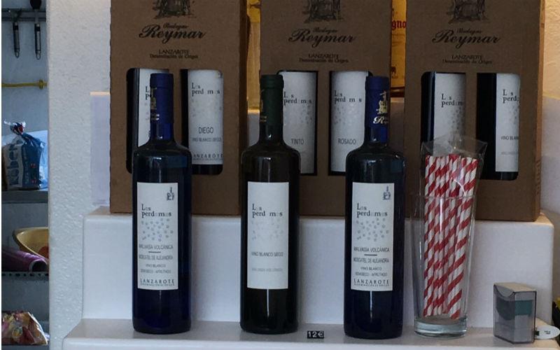 Lanzarote wine bottles