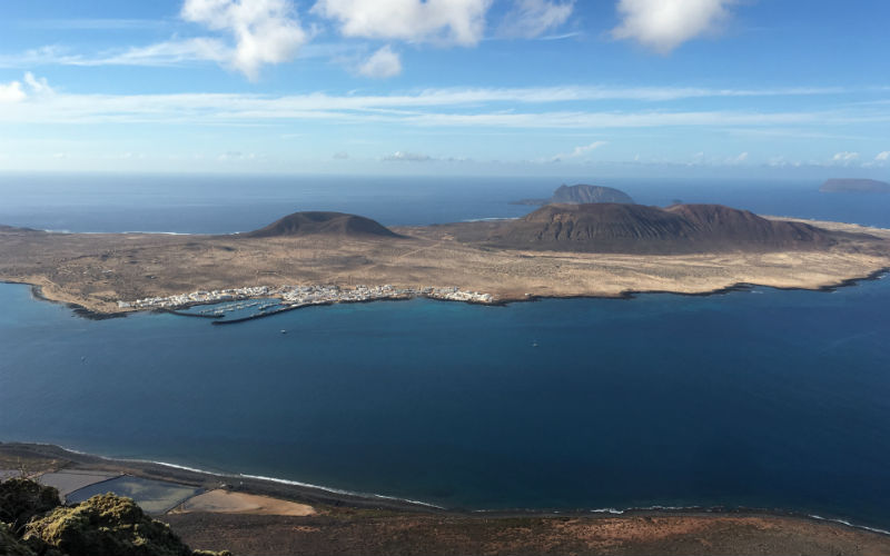 La Graciosa taken from the top of Mirador del Rio