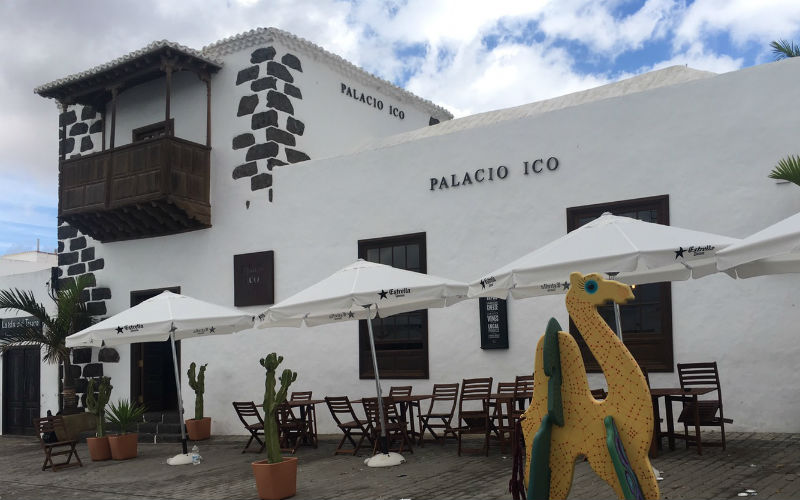 The Palacio Ico Hotel in Teguise