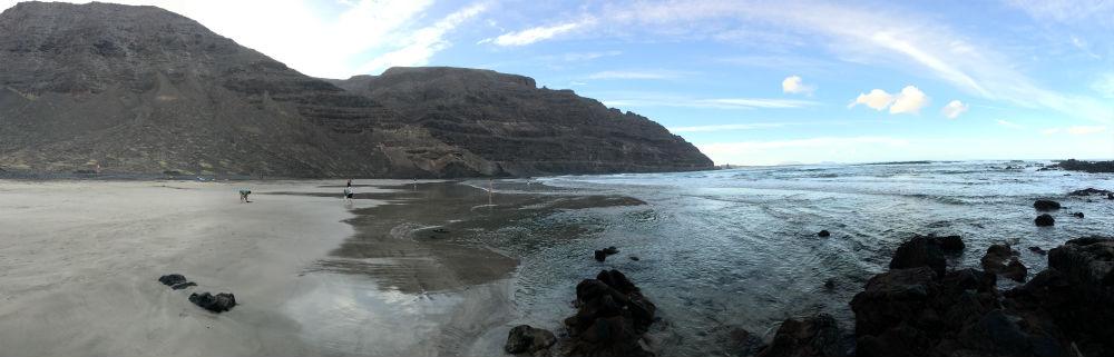 A hidden beach in Northern Lanzarote