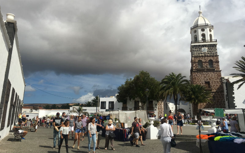 Every Sunday the small town of Teguise gets taken over by a market