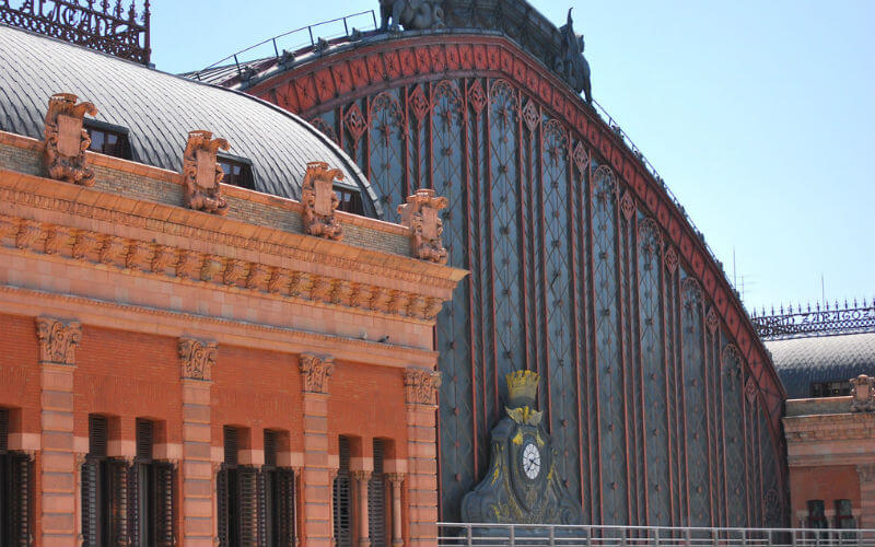 How to get to Atocha station in Madrid