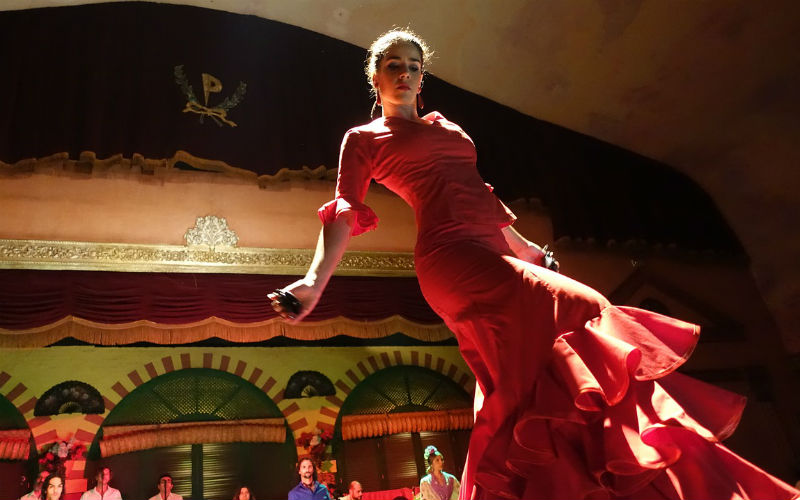 See a flamenco show in Seville