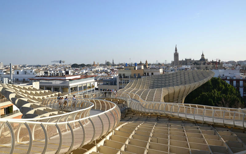 Top of the Metropol Parasol