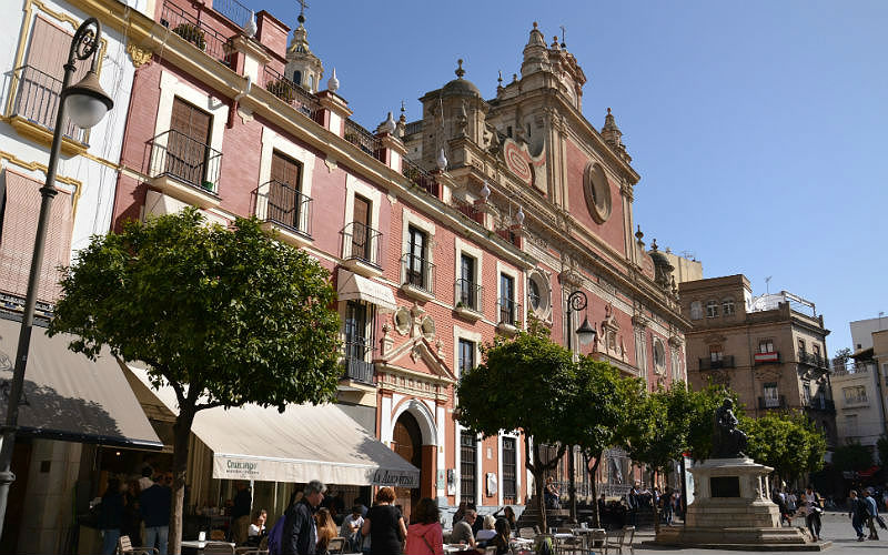 Plaza del Salvador in Seville