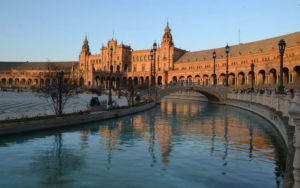 Plaza de Espana in Seville, the starting point for a one day itinerary