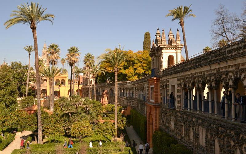 16 things to do in Seville - the Royal Alcázar