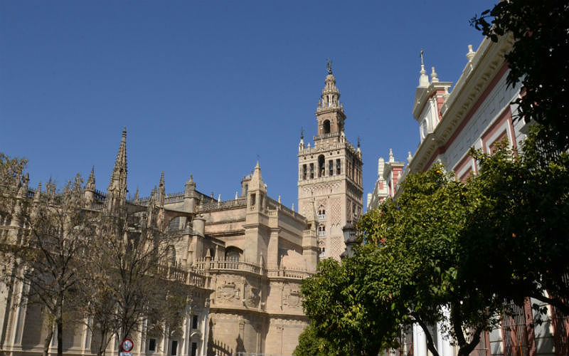Cathedral La Giralda Tower