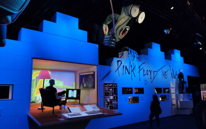 Pink Floyd Exhibition: Their Mortal Remains in Madrid