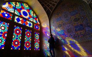 Stunning mosque in Iran