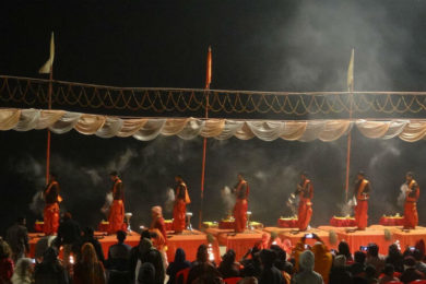 Celebrations and rituals by the Holy Ganges