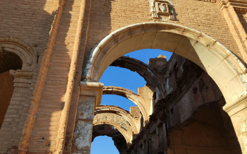 Cathedral in Belchite