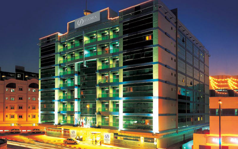 Flora Grand Hotel is an excellent place to stay in Dubai if you love shopping
