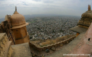Visiting Nahargarh Fort in Jaipur, India