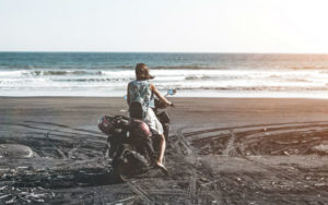 How to go about renting a scooter in Bali and traveling the island