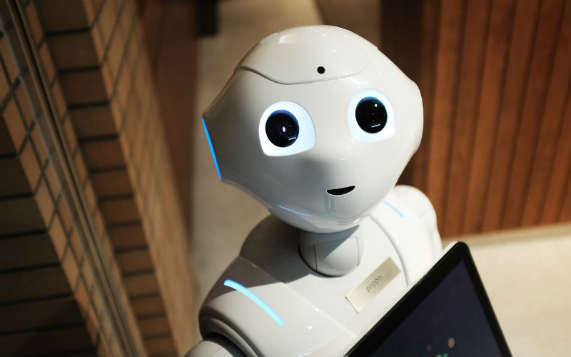 Pepper: One of many robots in the hospitality industry that are popping up in many places