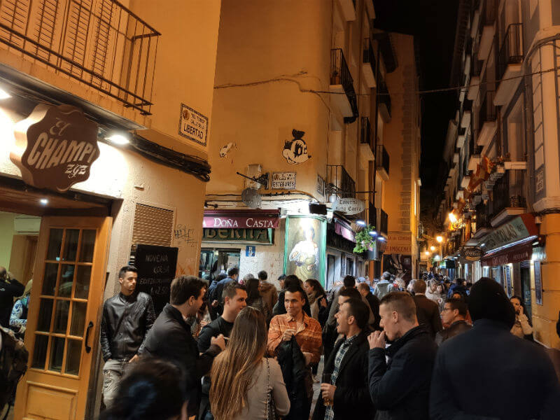 Where to eat in Zaragoza, you cannot miss El Tubo