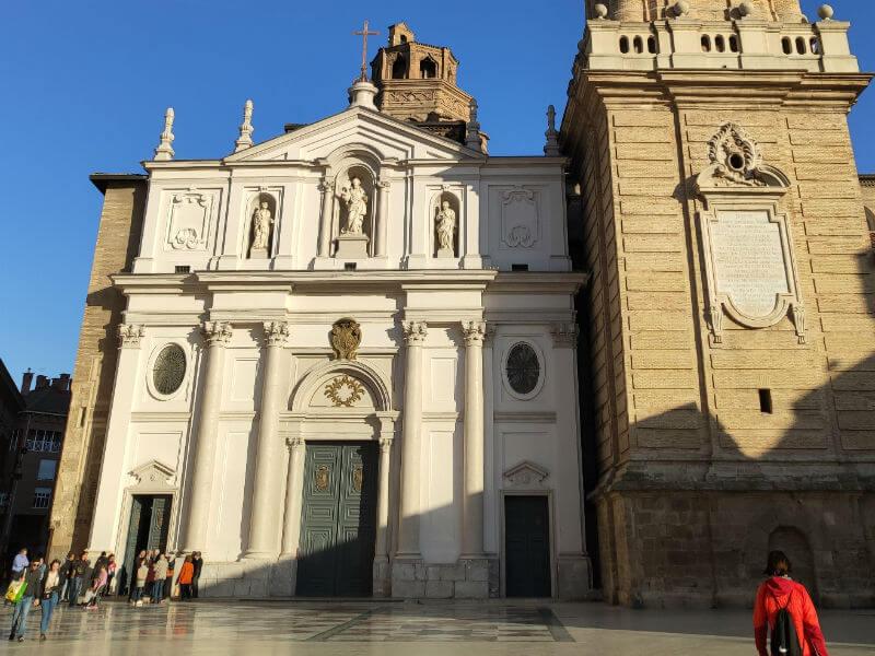The SEO Cathedral in Zaragoza