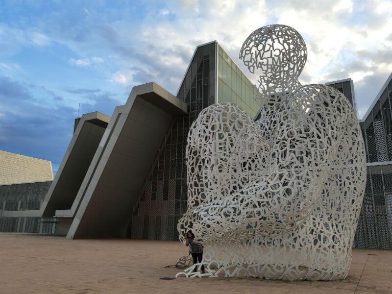 Exploring the Zaragoza exposition grounds