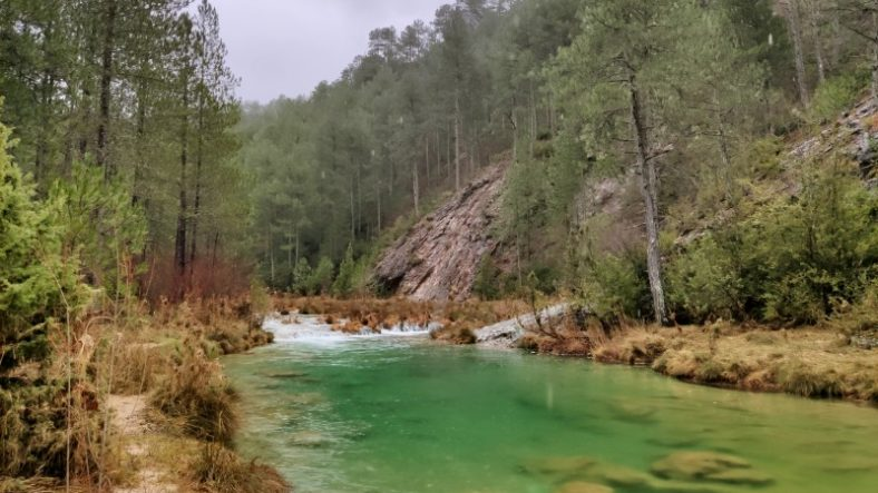 The Río Escabas in Serrania de Cuenca National Park